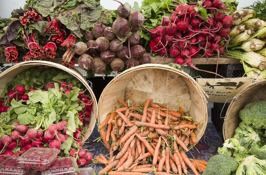 vegetables farmers market